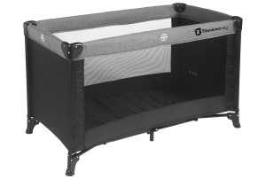 Titaniumbaby Campingbedje zwart / melange