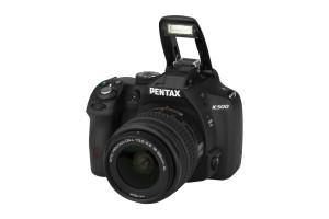 Pentax K-500 met DA L 18-55