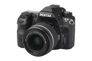Pentax K-3 II met smc DA 18-55 WR