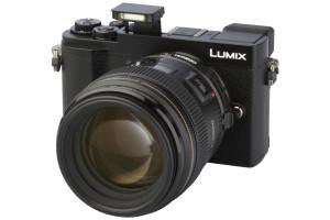Panasonic LUMIX DC-GX9 met Metabones Speed Booster MB_SPEF-m43-BT3 + Canon EF 85mm 1:1.8 USM