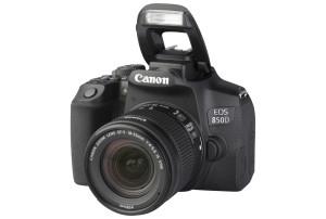 Canon EOS 850D met EF-S 18-55mm f/4-5.6 IS STM