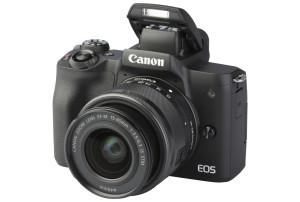 Canon EOS M50 Mark II met EF-M 15-45mm IS STM