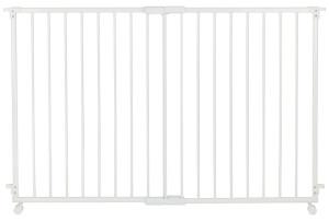 Safety Things Traphek 2-panelen op wieltjes 84-130cm wit