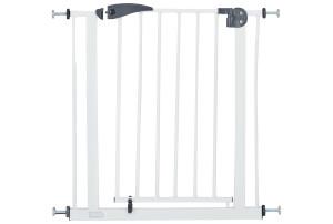 BabyGo Safety Gate White Traphek Klemhek 4051