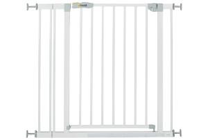 Hauck Stop n Safe 2 deurhekje wit inclusief 9 cm verlengstuk