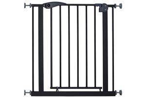 BabyGo Safety Gate Black Traphek Klemhek 4052